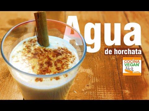 Agua de horchata - Cocina Vegan Fácil