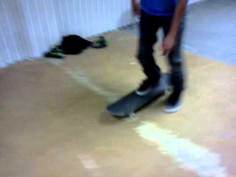 Basement skating