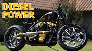 Motorcycles with DIESEL Engines