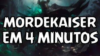 Como Jogar de MORDEKAISER (REWORK) em 4 Minutos (x2)