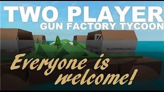 Roblox:2 jugador pistola fábrica magnate parte 1