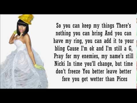 Nicki Minaj- So Special Lyrics