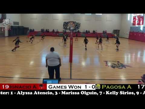Volleyball - Ignacio Middle School vs Pagosa Middle School  4-20-21
