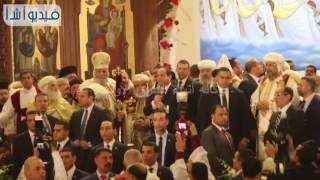 بالفيديو : الرئيس السيسى يفاجأ الاقباط ببناء كنيسة بالعاصمة الادارية الجديد