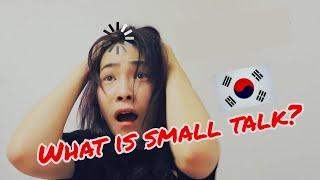 learning korean small talk
