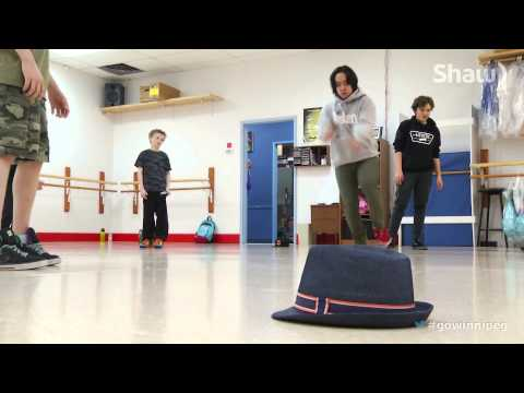 Breakdancing at the Rising Star Academy