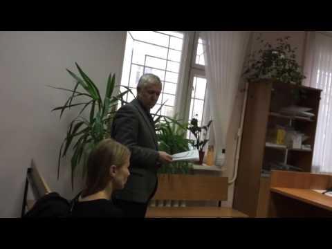 Декан Андрей Макарьин врет в суде