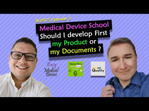 Medical Device School: Product Development Or Document Creation?