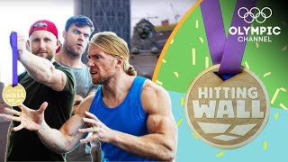 Buff Dudes get a taste of an Olympic Champion's Ski Cross workout | Hitting the Wall