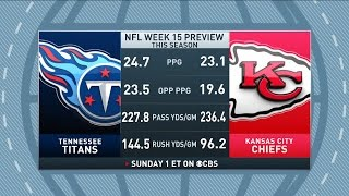 Gottlieb: Trent Green previews Titans at Chiefs