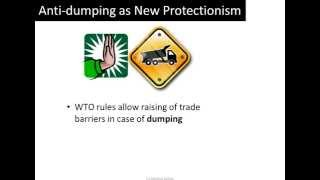 Anti-dumping as a new form of Protectionism