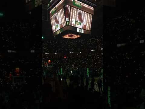 Milwaukee Bucks 2016-17 NBA Playoffs Game 4 First Round players Intros