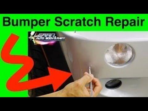How To Fix Bumper Scratch
