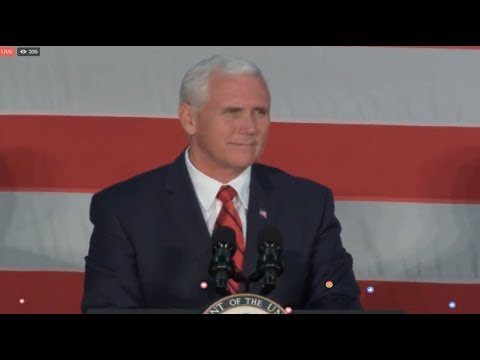 WATCH: VICE PRESIDENT MIKE PENCE RALLY FOR LUTHER STRANGE in Birmingham, AL