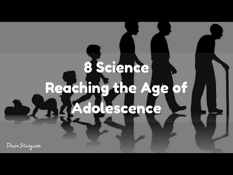 Reaching The Age Of Adolescence : CBSE Class 8 Science
