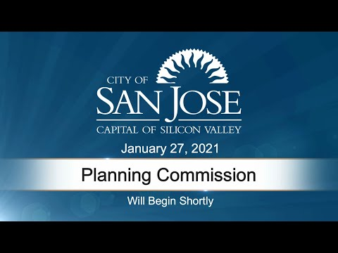 JAN 27, 2021 | Planning Commission