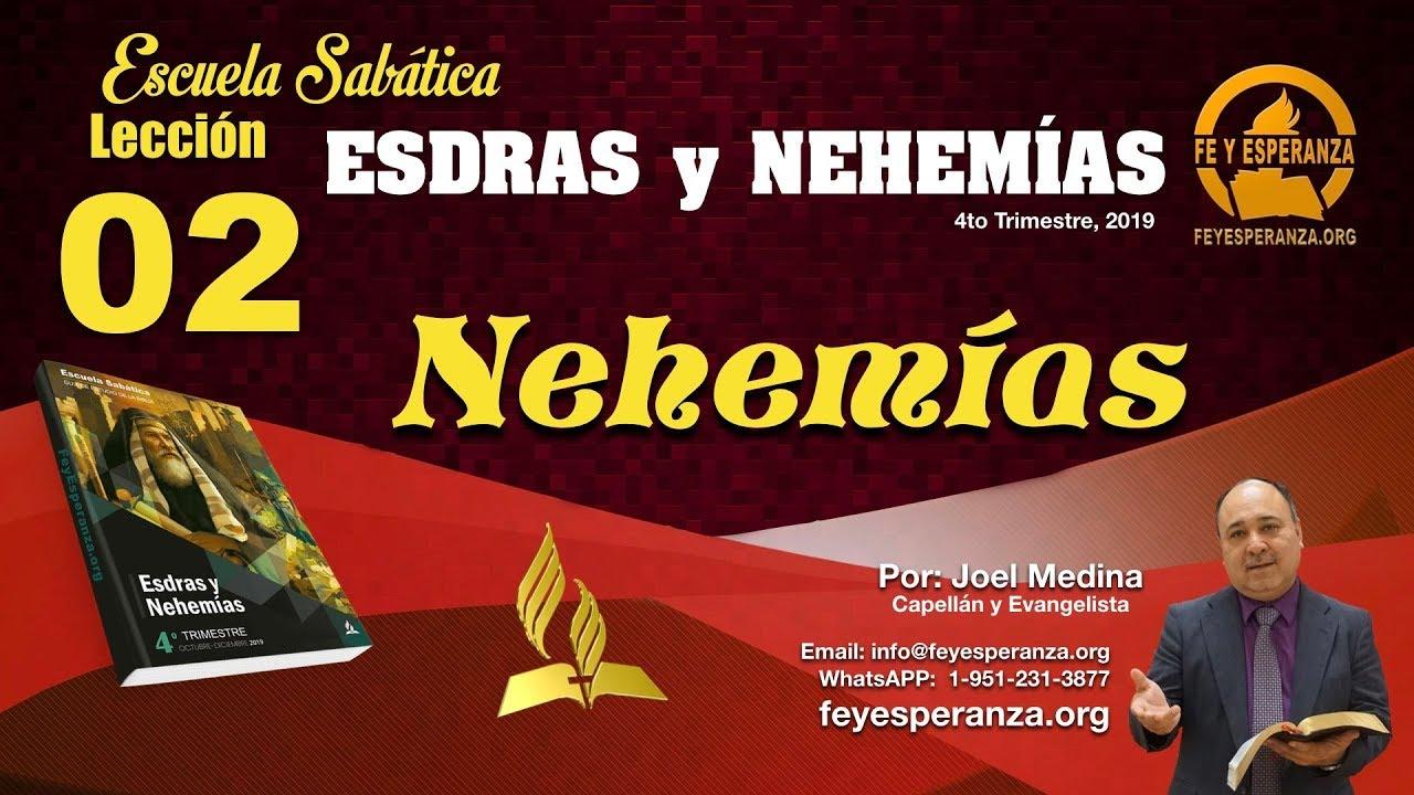 Repaso Leccion 2 - Nehemias | Joel Medina - Sabado 12 Oct 2019