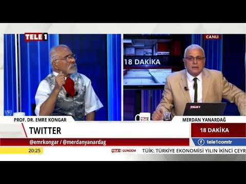 18 Dakika - Merdan Yanardağ & Emre Kongar (10 Eylül 2018) | Tele1 TV