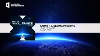 Kaimo K & Gemma Pavlovic - Leap Of Faith (Radio Edit) Best of Vocal Trance Vol 2 RNM