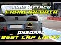 Honda S2000 Supercharged - Franciacorta test - Best Lap 1.18.47