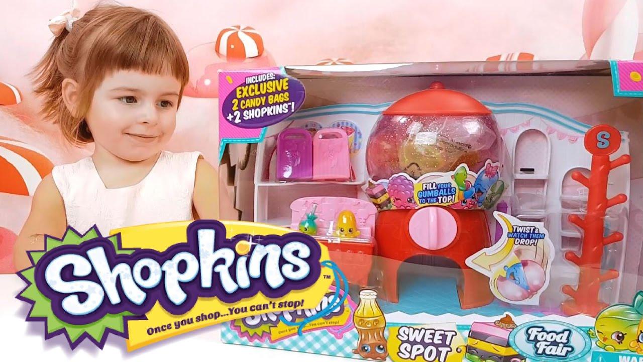 Шопкинс Свит Спот - Магазин Сладких Шопкинсов | игровые автоматы crazy fruits list