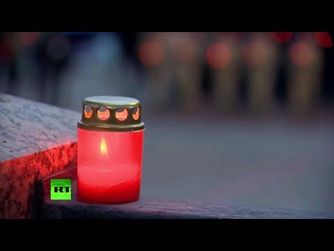 Жители Екатеринбурга приняли участие в акции «Свеча памяти»