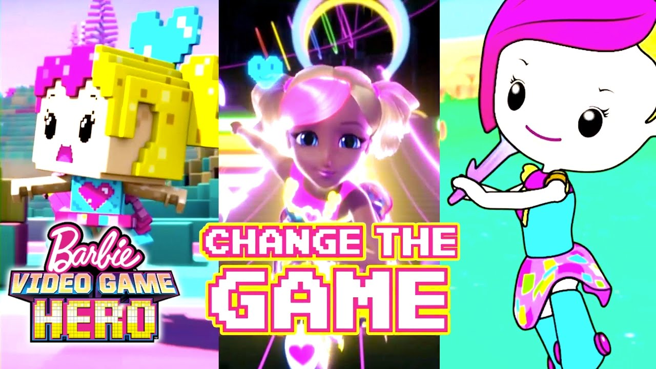 Change The Game Lyric Music Video Barbie Video Game