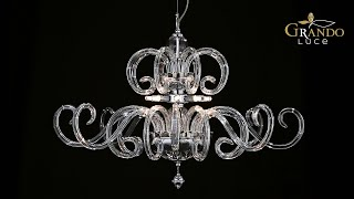Amadeus Collection Modern Crystal Chandeliers Video