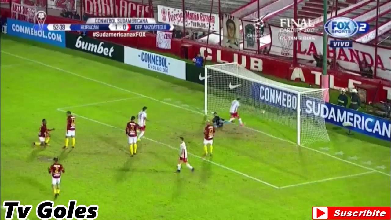 CA Huracan 4-0 Deportivo Anzoategui