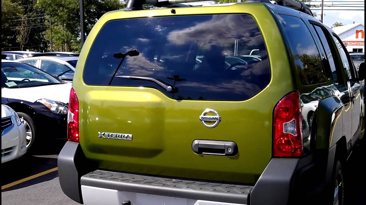 medium resolution of 2011 nissan xterra 4wd metallic green crazy awesome new color