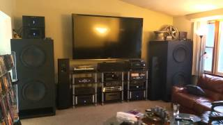 4) Dayton Ultimax 18 -Custom Home Theater