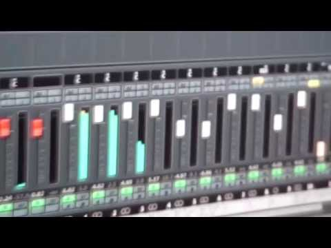 Mixing Software + Hardware + 2 finger keyboard skills at Zombie Nation studio