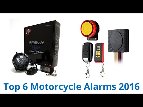6 Best Motorcycle Alarms 2016