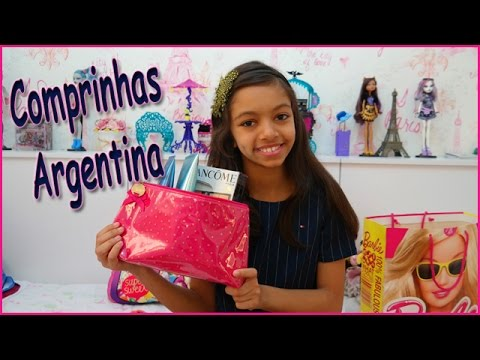Comprinhas feitas na Argentina e Free Shopping - Purchases and gifts received in Argentina