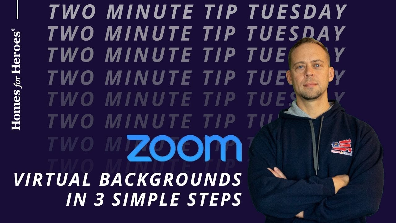 How To Change Zoom Backgrounds Without A Green Screen Youtube