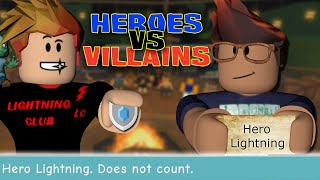 Long Lost Heroes vs. Villains Season - Roblox Survivor with Subs (Full Game)
