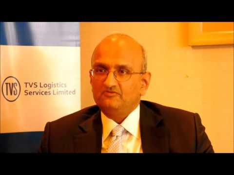 R.Dinesh, Managing Director, TVS Logistics Services Ltd talks to BusinessLine
