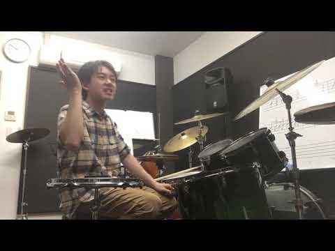 生徒様リクエスト Eric Mooreさんドラムソロ演奏してみました…
