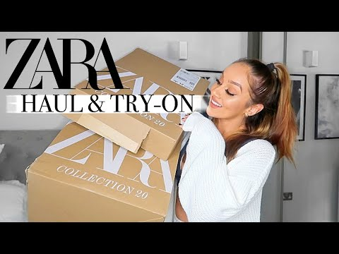 HUGE ZARA HAUL & TRY-ON! || NEW IN SPRING APRIL 2020