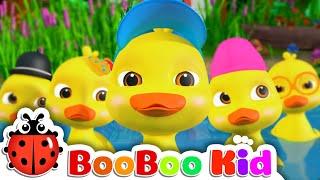 Five Little Ducks +More Nursery Rhymes & Kids Songs - BooBooKid