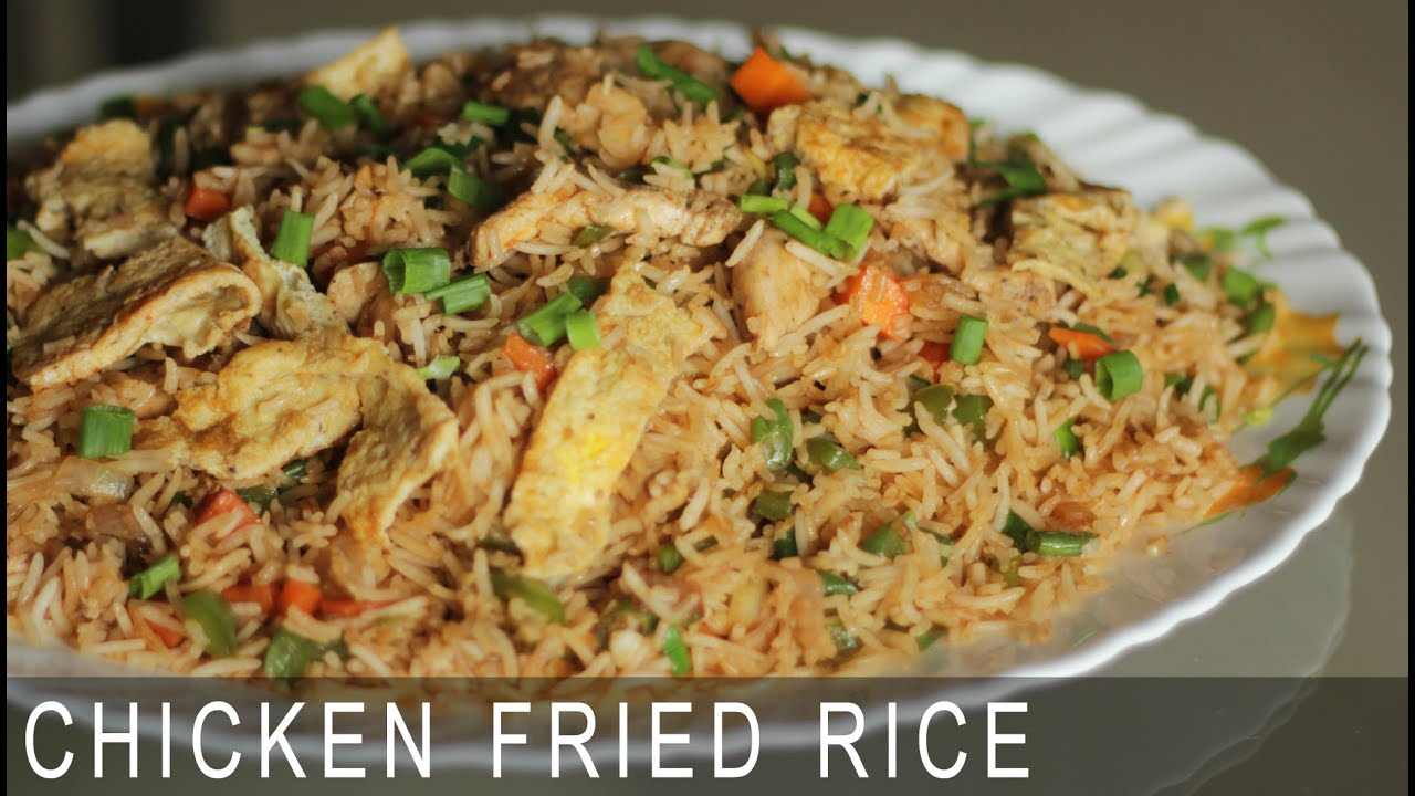Chicken fried rice recipe easy to make chinese recipe indian chicken fried rice recipe easy to make chinese recipe indian style chicken fried rice recipe youtube ccuart Images