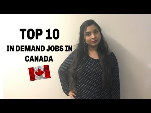 TOP 10 In Demand Jobs In Canada| Canada Vlogs