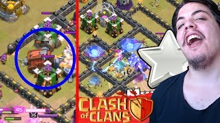 First Clan War W/ Siege Machines & Electro Dragon CoC