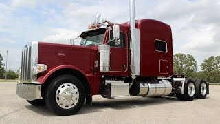 2017 Peterbilt 389 550 Cummins Owner Operator Platinum Interior Electric Red