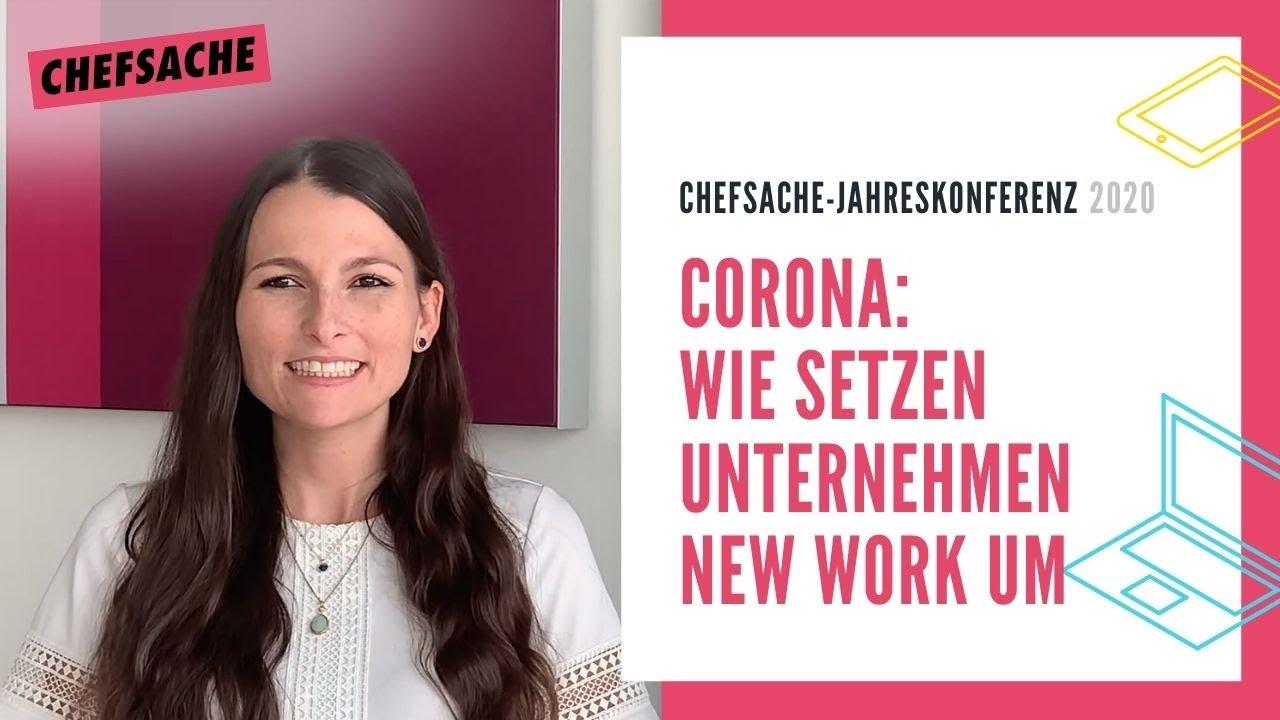Wie haben Ihre Kollegen und Sie sich während der Corona-Pandemie auf New Work eingestellt?