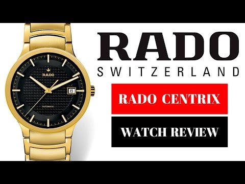 Rado Centrix Men's Watch Automatic Review Model: R30279153