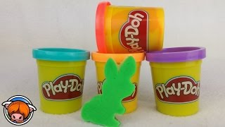 Play doh song - Play doh song for kids - Nursery Rhymes - While cutting out play doh bunny shapes