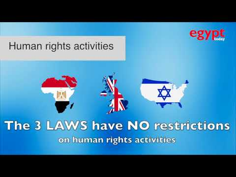 NGOs law in Egypt, Britain and Israel