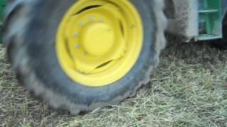 préparation au strip till Horthman, suite méteil pour semis soja,26 05 1616