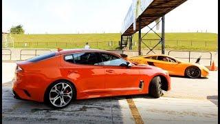 Kia Stinger at the Racetrack!